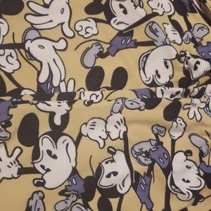 One size lularoe Mickey mouse leggings